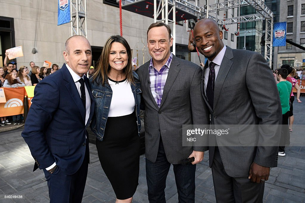 "NBC's ""Today"" With American Ninja Warriors"
