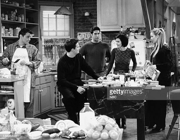 Matt LeBlanc as Joey Tribbiani Matthew Perry as Chandler Bing David Schwimmer as Ross Geller Courteney Cox as Monica Geller Lisa Kudrow as Phoebe...
