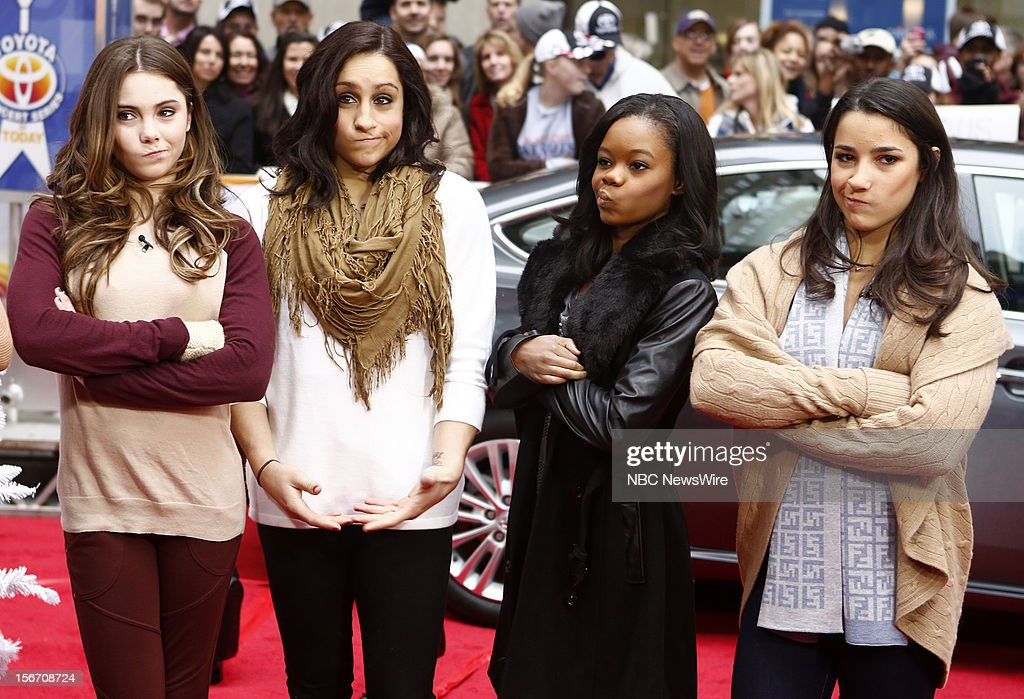 McKayla Maroney, Jordyn Wieber, Gabby Douglas and Aly Raisman appear on NBC News' 'Today' show --