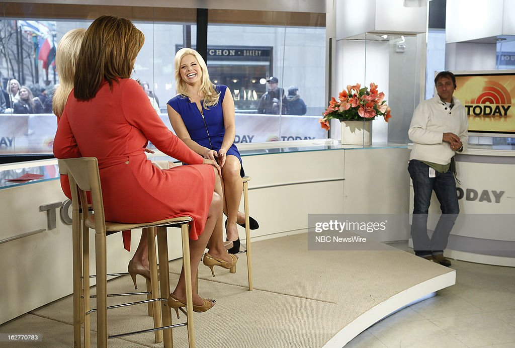 Megan Hilty appears on NBC News' 'Today' show --