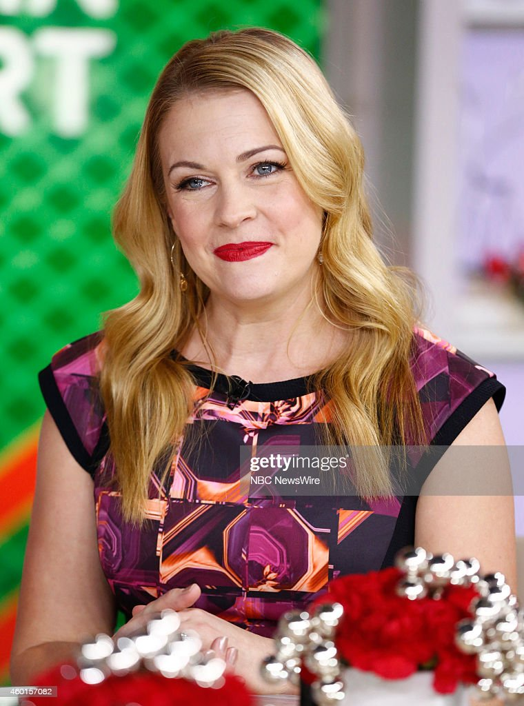 Melissa Joan Hart appears on NBC News' 'Today' show --