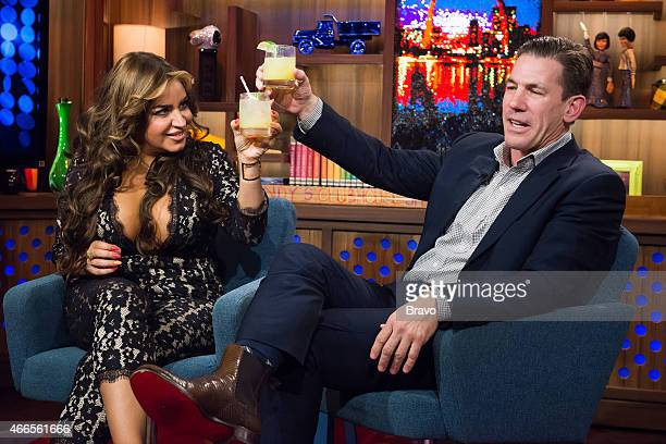 Mercedes Javid and Thomas Ravenel