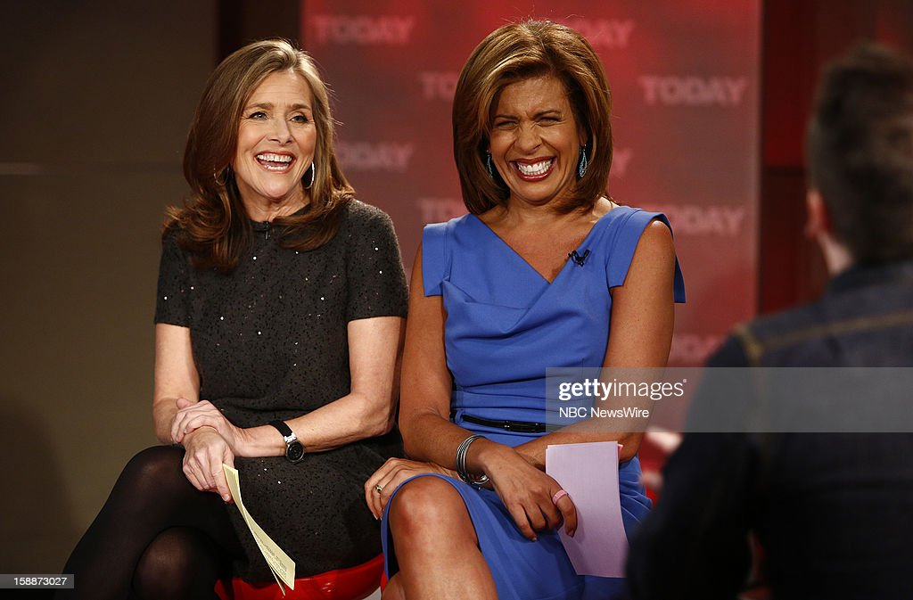 Meredith Vieira and Hoda Kotb appear on NBC News' 'Today' show --