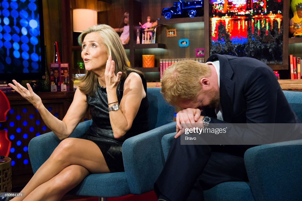 Meredith Vieira and Jesse Tyler Ferguson -- Photo by: Charles Sykes/Bravo/NBCU Photo Bank via Getty Images