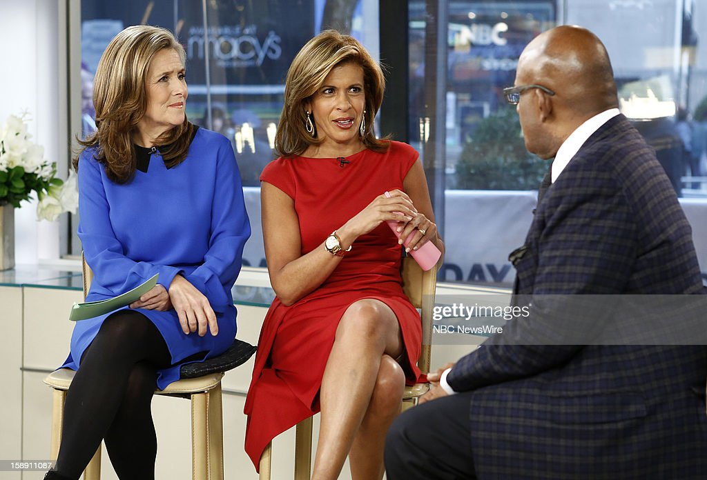 Meredith Vieira, Hoda Kotb and Al Roker appear on NBC News' 'Today' show --