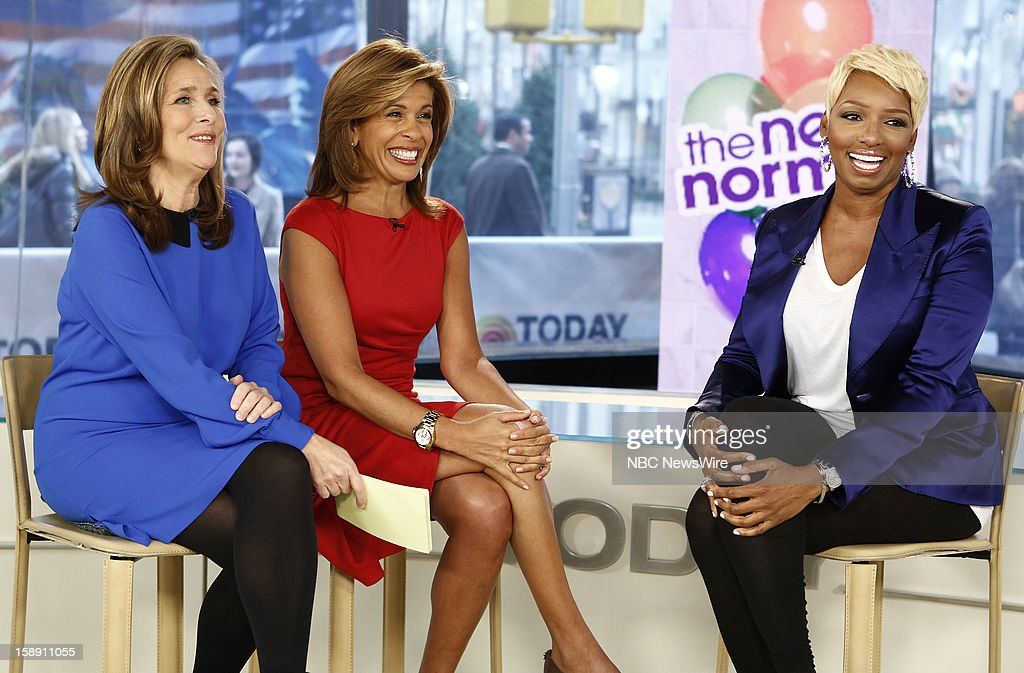 Meredith Vieira, Hoda Kotb and NeNe Leakes appear on NBC News' 'Today' show --