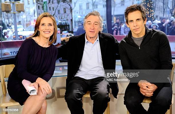 Meredith Vieira Robert De Niro and Ben Stiller appear on NBC News' 'Today' show
