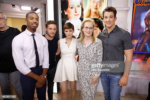 Michael B Jordan Jamie Bell Kate Mara Merl Streep and Miles Teller appear on NBC News' 'Today' show