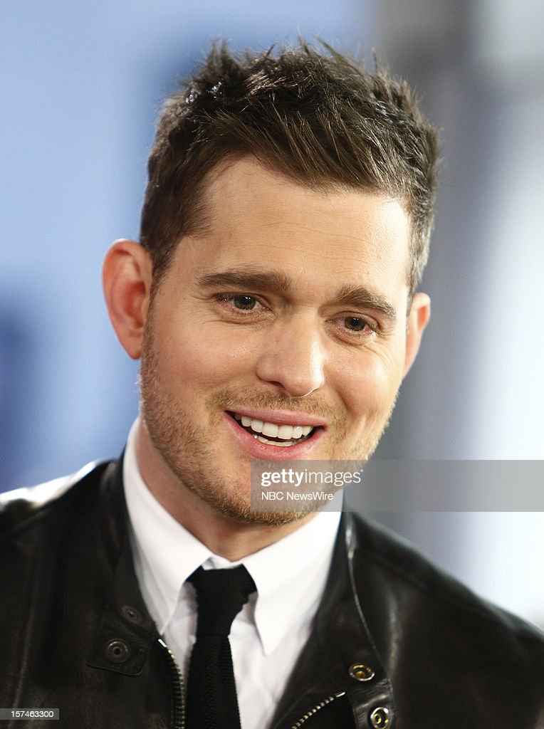 Michael Buble appears on NBC News' 'Today' show --