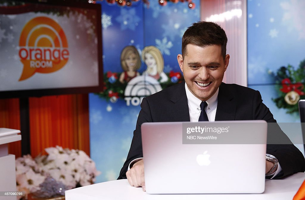 <a gi-track='captionPersonalityLinkClicked' href=/galleries/search?phrase=Michael+Buble&family=editorial&specificpeople=215140 ng-click='$event.stopPropagation()'>Michael Buble</a> appears on NBC News' 'Today' show --