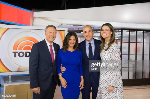 Michael Gargiulo Darlene Rodriguez Matt Lauer and Savannah Guthrie on Tuesday June 6 2017