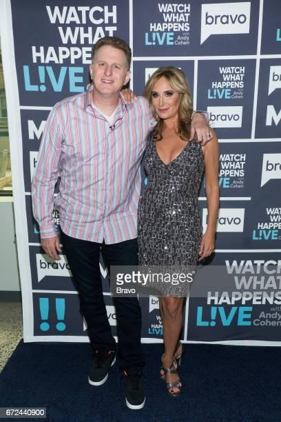 Michael Rapaport and Sonja Morgan