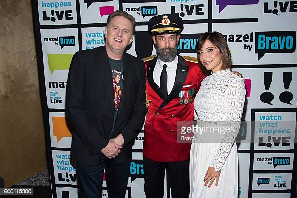 Michael Rapaport Captain Obvious and Bethenny Frankel