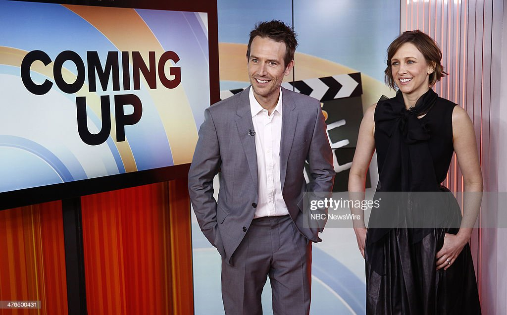 Michael Vartan and Vera Farmiga appear on NBC News' 'Today' show --