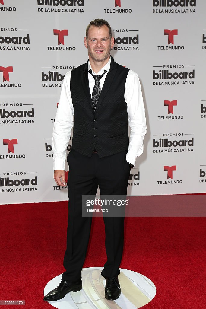 Miguel Gurwitz arrives at the 2016 Billboard Latin Music Awards at the BankUnited Center in Miami, Florida on April 28, 2016 --