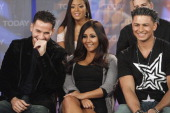 Mike 'The Situation' Sorrentino Sammi 'Sweetheart' Giancola Nicole 'Snooki' Polizzi Paul 'DJ Pauly D' DelVecchio Vinny The cast of MTV's wildly...
