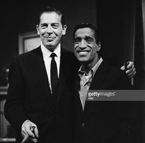Milton Berle Sammy Davis Jr in 1956