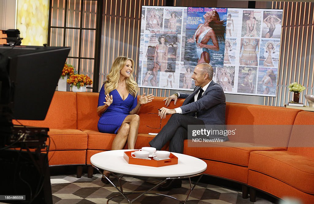 Model <a gi-track='captionPersonalityLinkClicked' href=/galleries/search?phrase=Christie+Brinkley&family=editorial&specificpeople=204151 ng-click='$event.stopPropagation()'>Christie Brinkley</a> and NBC News' <a gi-track='captionPersonalityLinkClicked' href=/galleries/search?phrase=Matt+Lauer&family=editorial&specificpeople=206146 ng-click='$event.stopPropagation()'>Matt Lauer</a> appear on NBC News' 'Today' show on October 21, 2013 --