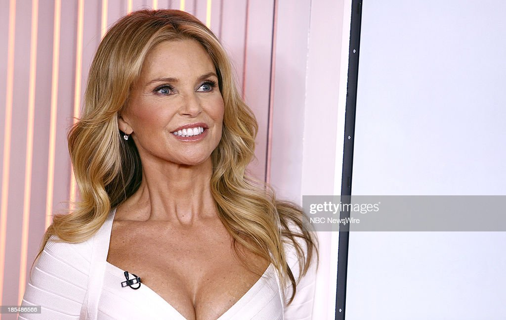 Model <a gi-track='captionPersonalityLinkClicked' href=/galleries/search?phrase=Christie+Brinkley&family=editorial&specificpeople=204151 ng-click='$event.stopPropagation()'>Christie Brinkley</a> appears on NBC News' 'Today' show on October 21, 2013 --