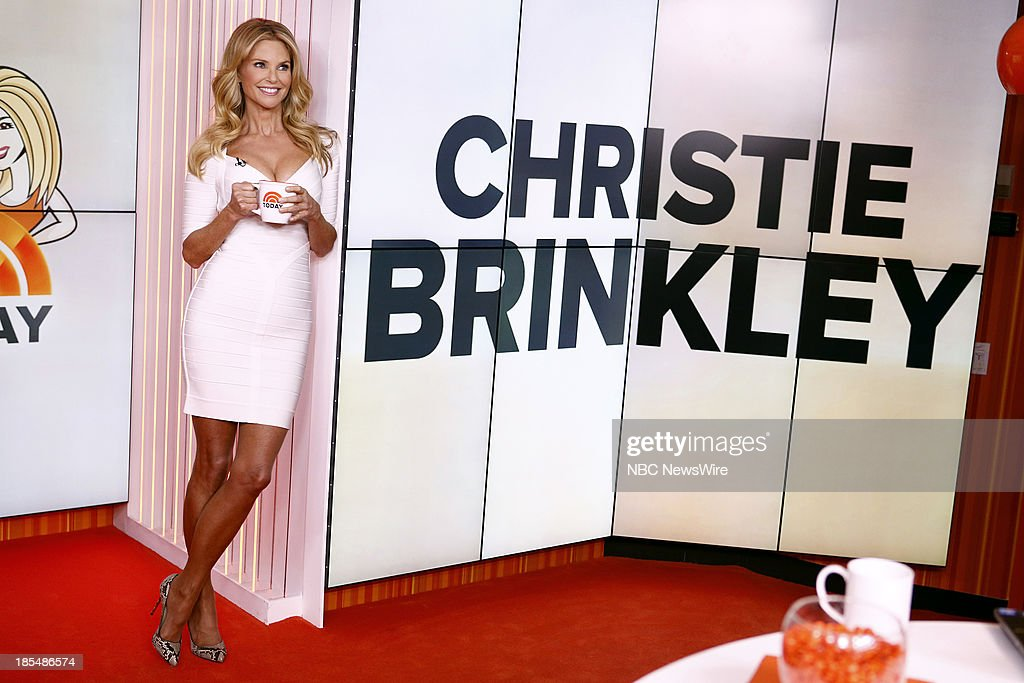 Model Christie Brinkley appears on NBC News' 'Today' show on October 21, 2013 --