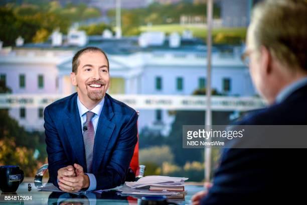 Moderator Chuck Todd appears on 'Meet the Press' in Washington DC Sunday Dec 3 2017