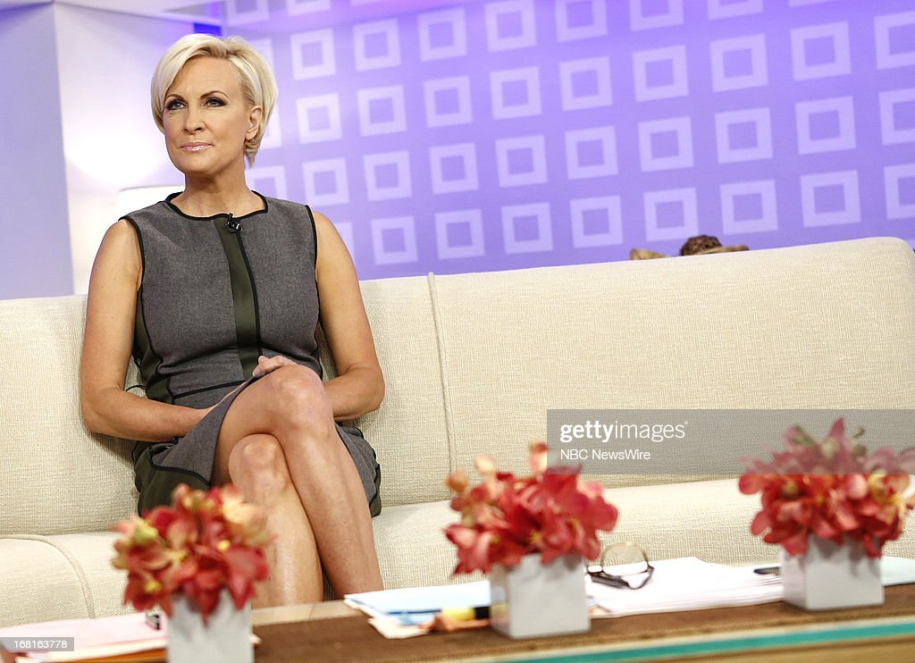 MSNBC's Mika Brzezinski appears on NBC News' 'Today' show on May 6, 2013 --