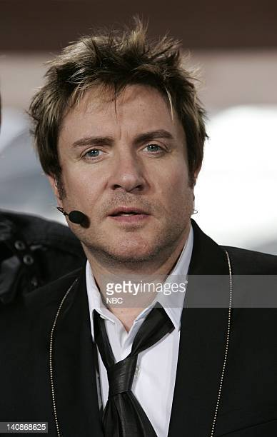 Musical group Duran Duran is interviewed prior to the 'Concert for Diana' held at Wembley Stadium Wembley London England on July 1 2007 Photo by...