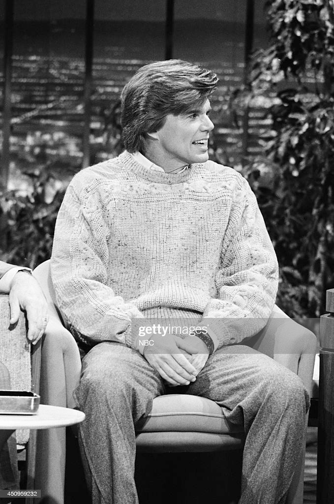 Musical guest John Davidson during an interview on January 3, 1985 --