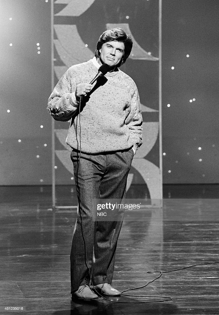 Musical guest John Davidson performs on January 3, 1985 --