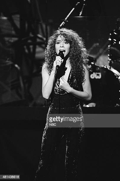 Musical guest Mariah Carey performs on November 20 1990
