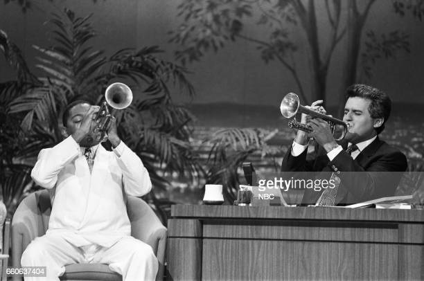 Musical guest Wynton Marsalis during an interview on July 16 1991