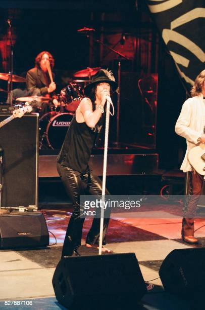 Musician Chris Robinson of the Black Crowes performing on April 28 1999