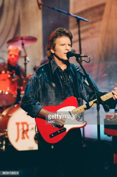 Musician John Fogerty performing on March 6 1998