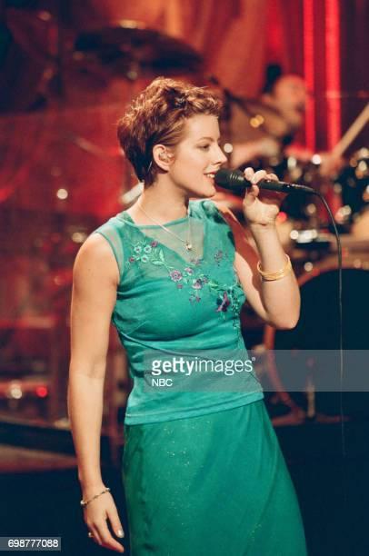 Musician Sara McLachlan performing on January 30 1998