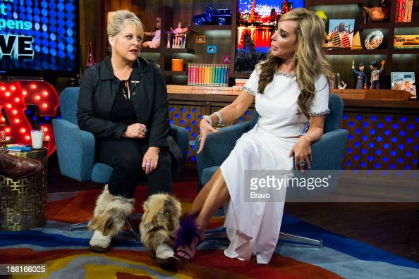 Nancy Grace and Marysol Patton Photo by Charles Sykes/Bravo/NBCU Photo Bank via Getty Images