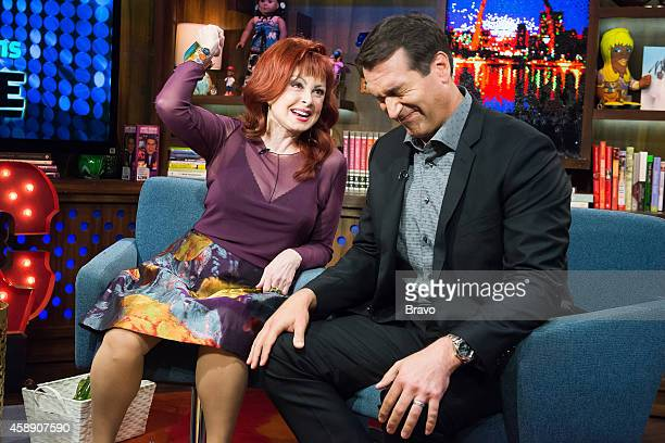 Naomi Judd and Rob Riggle