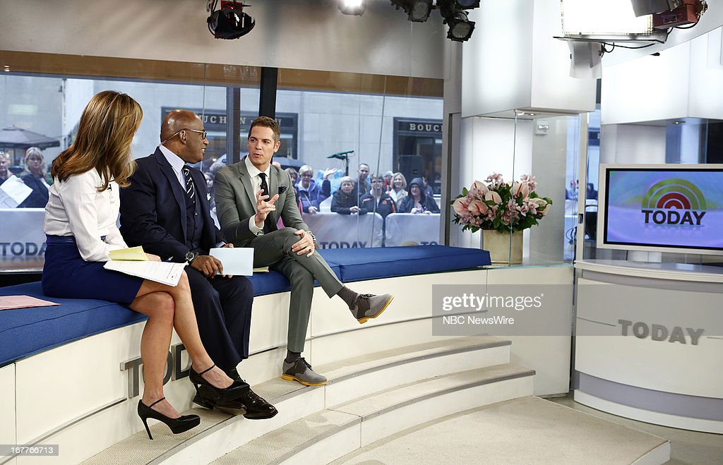 Natalie Morales, Al Roker and Jason Kennedy appear on NBC News' 'Today' show --