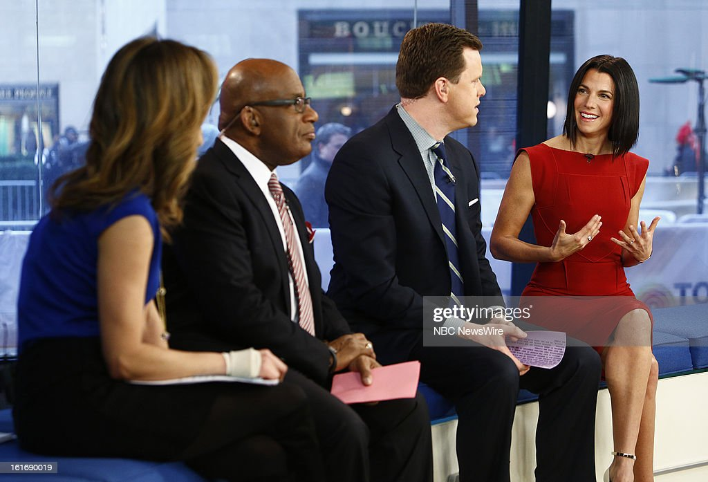 Natalie Morales, Al Roker, Willie Geist and Jessica Seinfeld appear on NBC News' 'Today' show --