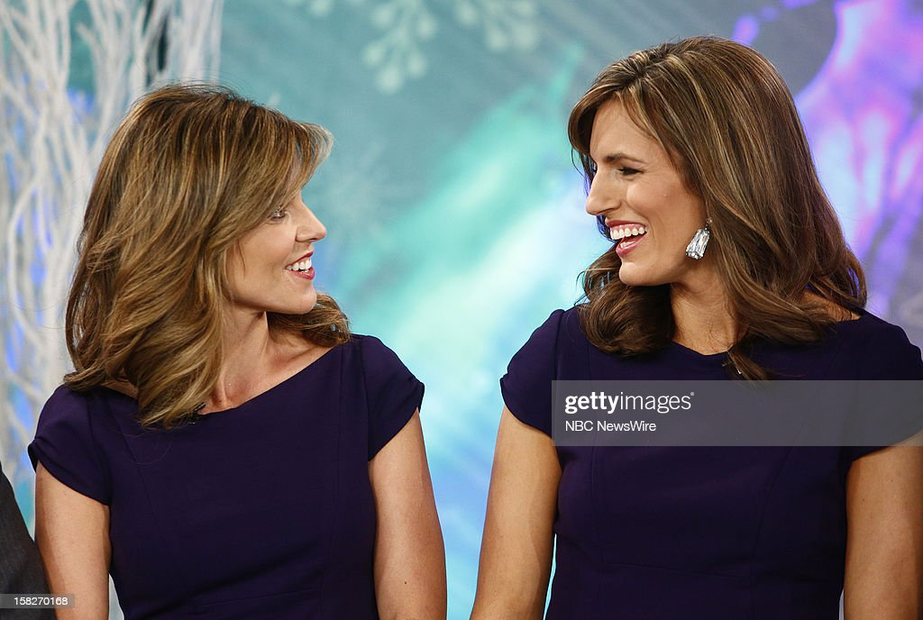 Natalie Morales and a look-alike appear on NBC News' 'Today' show --