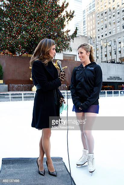 Natalie Morales and Ashley Wagner appear on NBC News' 'Today' show