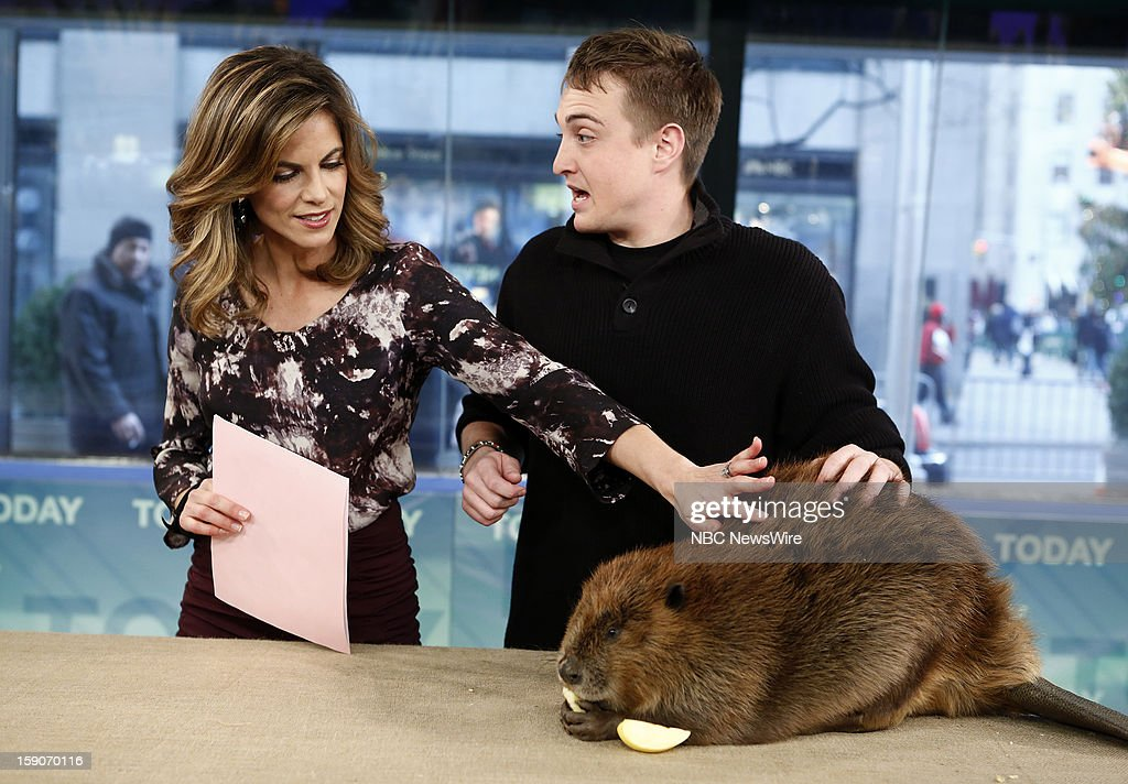 Natalie Morales and Corbin Maxey appear on NBC News' 'Today' show --