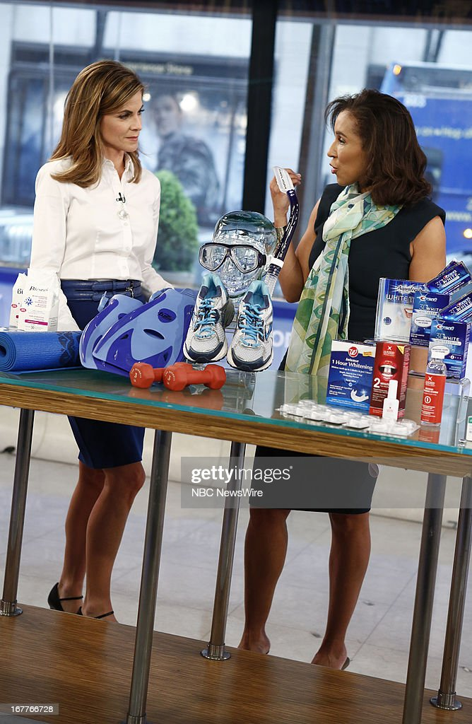 Natalie Morales and Dr. Jeanine Downey appear on NBC News' 'Today' show --