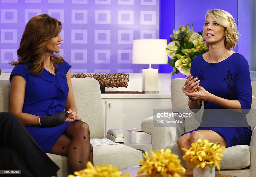 Natalie Morales and Jenna Elfman appear on NBC News' 'Today' show --