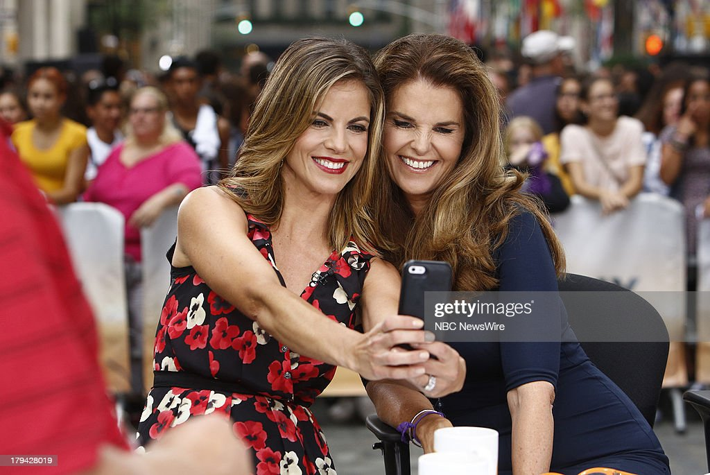 Natalie Morales and Maria Shriver appear on NBC News' 'Today' show --