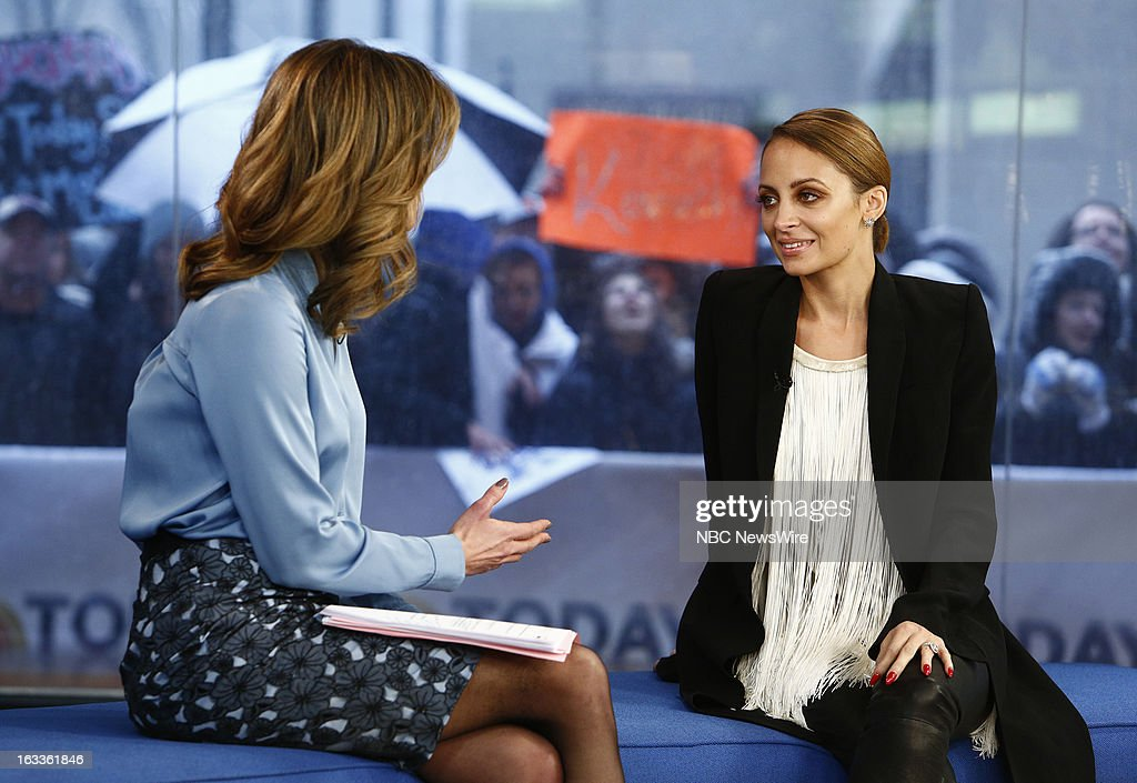 Natalie Morales and <a gi-track='captionPersonalityLinkClicked' href=/galleries/search?phrase=Nicole+Richie&family=editorial&specificpeople=201646 ng-click='$event.stopPropagation()'>Nicole Richie</a> appear on NBC News' 'Today' show --