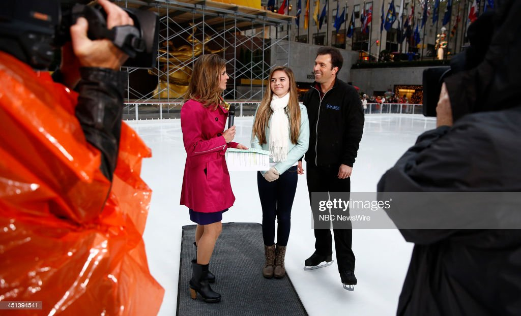 Natalie Morales Annie Mae Weiss and Michael Weiss appear on NBC News' 'Today' show