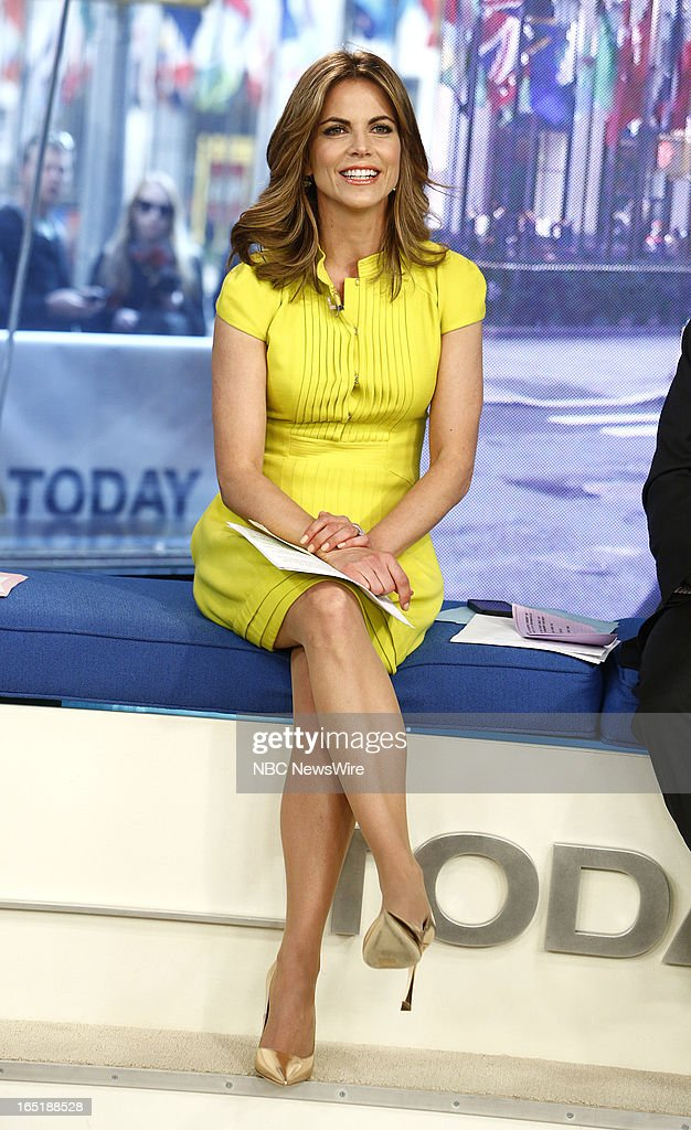 Natalie Morales appears on NBC News' 'Today' show on April 1, 2013 --