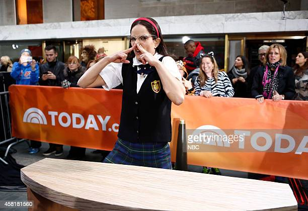 Natalie Morales appears on the 'Today' show on Thursday October 31 2014
