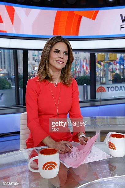 Natalie Morales appears on the 'Today' show on Wednesday February 10 2016