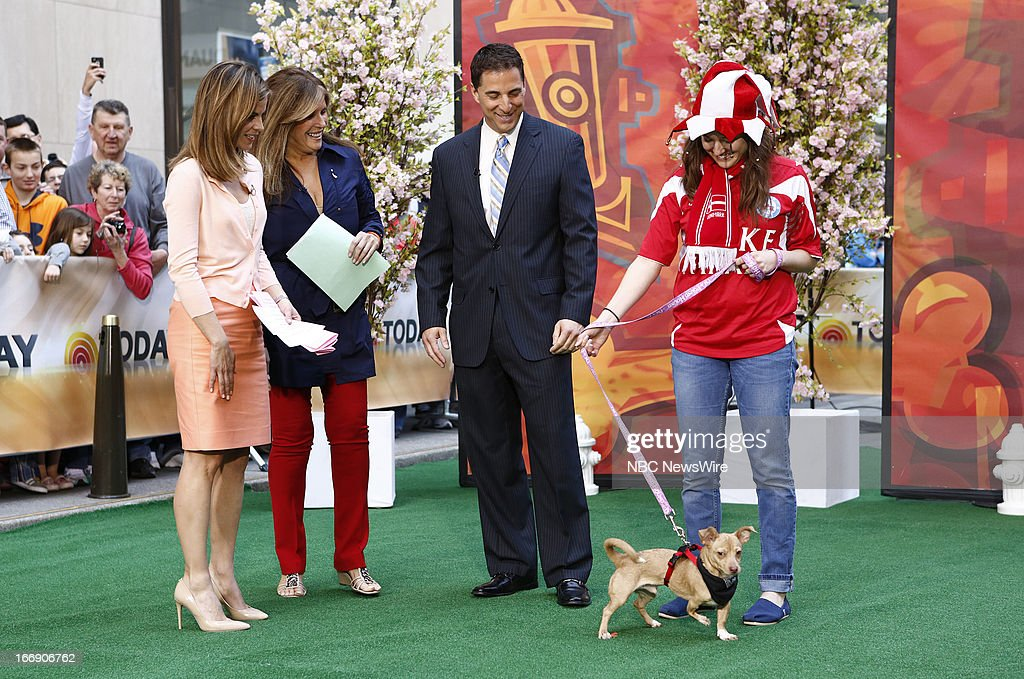 Natalie Morales, Jill Rappaport and Richard Gentles appear on NBC News' 'Today' show --